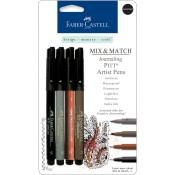 Faber-Castell Mix & Match PITT Artist Pens