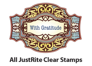 JustRite Papercraft Clear Stamp Sets