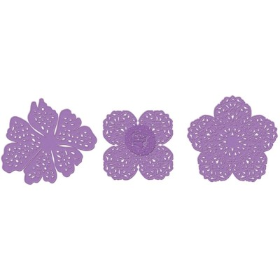 LACY FLOWERS DIE SET from Prima Marketing