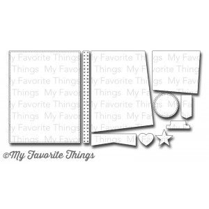DIE-NAMICS BLUEPRINTS 15 DIE SET from My Favorite Things MFT Stamps