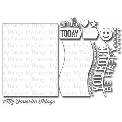 DIE-NAMICS BLUEPRINTS 11 DIE SET from My Favorite Things MFT Stamps