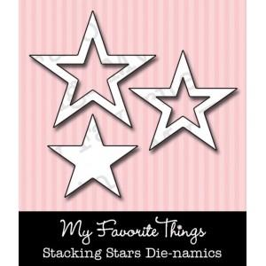 DIE-NAMICS STACKING STARS DIE from My Favorite Things MFT Stamps