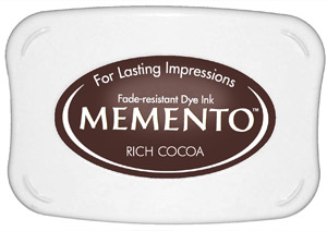 Memento Ink Pad RICH COCOA from Tsukineko