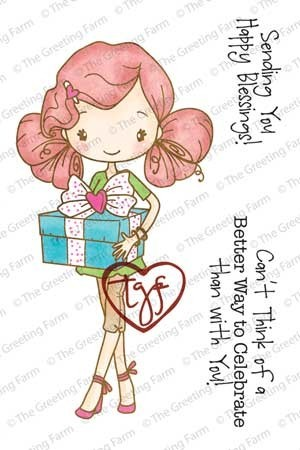 ANYA CELEBRATES Rubber Stamp Big Anya Collection from The Greeting Farm