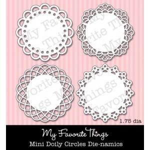 DIE-NAMICS MINI DOILY CIRCLES DIE from My Favorite Things MFT Stamps