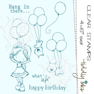 FLYING HIGH Clear Stamp Set from Tiddly Inks