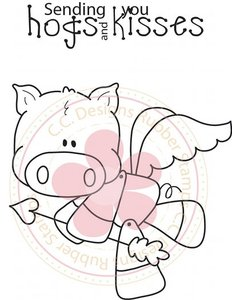 HOGS & KISSES Animal Crackers Collection from C.C. Designs
