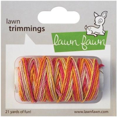 PINK LEMONADE SINGLE CORD Hemp Twine from Lawn Fawn