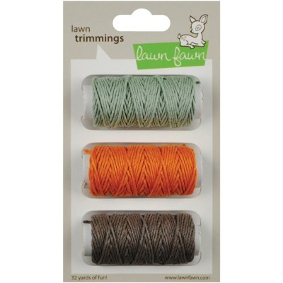 RETRO TRIPLE PACK CORD Hemp Twine from Lawn Fawn