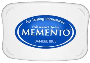 Memento Ink Pad DANUBE BLUE from Tsukineko