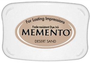 Memento Ink Pad DESERT SAND from Tsukineko