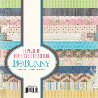 PRAIRIE CHIC Paper Pad 6x6 Prairie Chic Collection from Bo Bunny