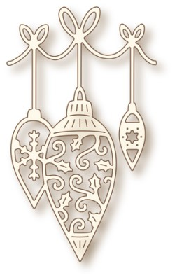 New! HANGING BAUBLES Specialty Craft Die from Wild Rose Studio
