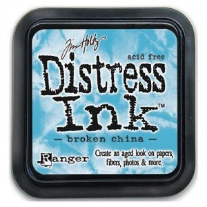 Tim Holtz Distress Ink Pad BROKEN CHINA from Ranger Ink