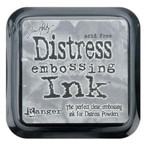 Tim Holtz Distress Ink Pad CLEAR FOR EMBOSSING from Ranger