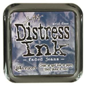 Tim Holtz Distress Ink Pad FADED JEANS from Ranger