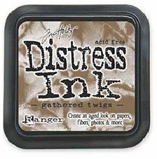 Tim Holtz Distress Ink Pad GATHERED TWIGS from Ranger