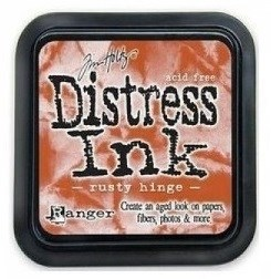 Tim Holtz Distress Ink Pad RUSTY HINGE from Ranger
