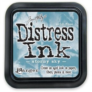 Tim Holtz Distress Ink Pad STORMY SKY from Ranger