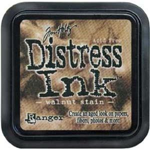 Tim Holtz Distress Ink Pad WALNUT STAIN from Ranger