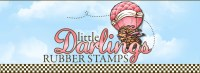 Little Darlings Rubber Stamps