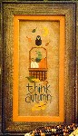 THINK AUTUMN Cross Stitch Pattern from Lizzie Kate