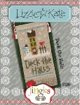 Jingles Series - DECK THE HALLS Cross Stitch Pattern from Lizzie Kate