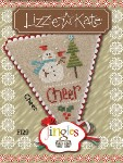 Jingles Series - CHEER Cross Stitch Pattern from Lizzie Kate