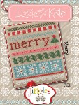 Jingles Series - MERRY Cross Stitch Pattern from Lizzie Kate
