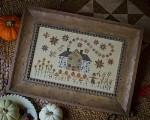 CINNAMON STARS Cross Stitch Pattern by Plum Street Samplers
