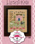 4 Seasons Series - SUMMER Cross Stitch Pattern from Lizzie Kate