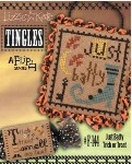 Tingles Series - JUST BATTY/TRICK OR TREAT Cross Stitch Pattern from Lizzie Kate