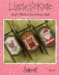 NIGHT BEFORE CHRISTMAS SLEDS Cross Stitch Pattern from Lizzie Kate