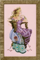 SUN GODDESS Cross Stitch Pattern by Nora Corbett from Mirabilia Designs