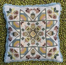 SPRING ACORNS Counted Cross Stitch Pattern from The Blue Flower