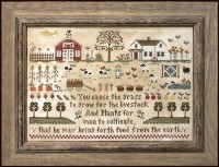 FARM LIFE Cross Stitch Chart from Little House Needleworks