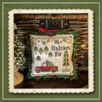 Jack Frost's Tree Farm Series - BALSAM FIR Part 4 - Cross Stitch Chart from Little House Needleworks