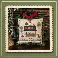 Jack Frost's Tree Farm Series - COOKIES Part 7 - Cross Stitch Chart from Little House Needleworks