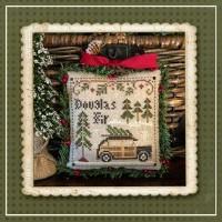 Jack Frost's Tree Farm Series - DOUGLAS FIR Part 2 - Cross Stitch Chart from Little House Needleworks
