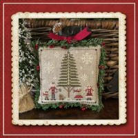 Jack Frost's Tree Farm Series - FAMILY FUN Part 3 - Cross Stitch Chart from Little House Needleworks