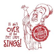 OPERA SINGER Rubber Stamp from Make It Crafty