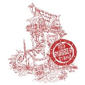 BOOT HOUSE Rubber Stamp from Make It Crafty