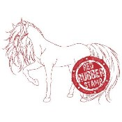 ENCHANTED UNICORN Rubber Stamp from Make It Crafty