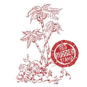 PALM TREES Rubber Stamp from Make It Crafty