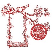 THE IVY SWING Rubber Stamp from Make It Crafty