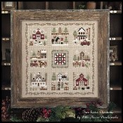 Farmhouse Christmas - COMPLETE SERIES - Set of 9 Cross Stitch Patterns from Little House Needleworks