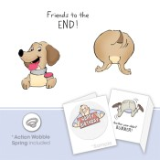 TO THE END SET Cling Rubber Stamp Set Shake Your Booty Collection from Art Impressions