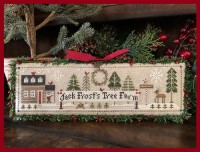 Jack Frost's Tree Farm Series - JACK FROST Part 1 - Cross Stitch Chart from Little House Needleworks