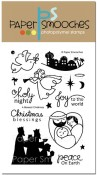 A BLESSED CHRISTMAS Clear Stamp Set from Paper Smooches