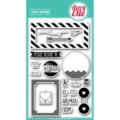 AIR MAIL Clear Stamp Set from Avery Elle